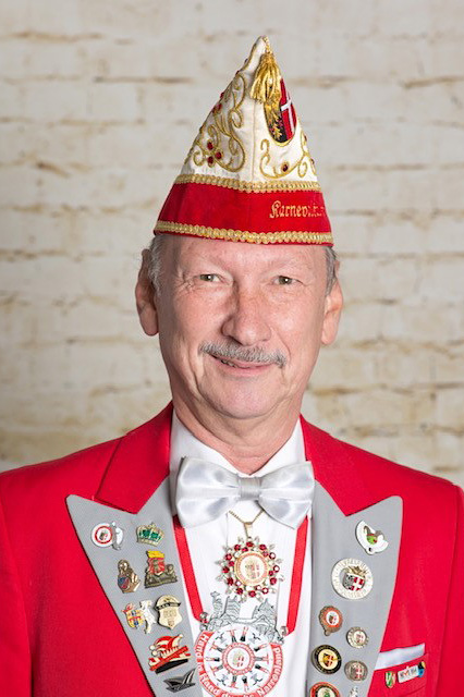 Prinzenführer Dieter Schiller