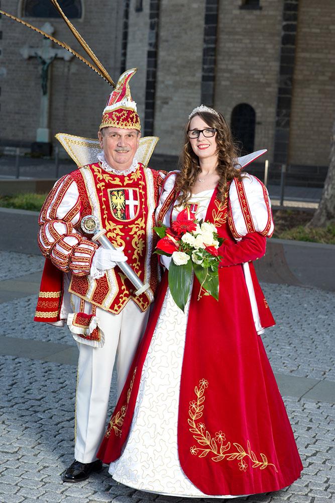 Prinzenpaar Kalli I. & Mandy I., der Stadt Neuss 2018 / 2019