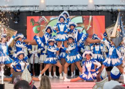 Die Novesia-Garde der NKG Blaue Funken - Foto: Michael Ritters