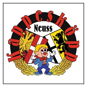 "Logo Stammtisch  der Mundart- & Karnevalskünstler  ""Kappesköpp"""